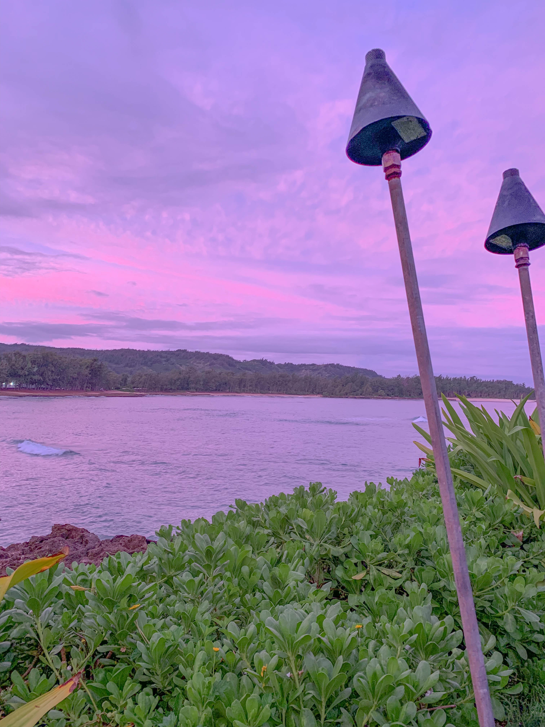 sunrise at turtle bay resort in oahu hawaii