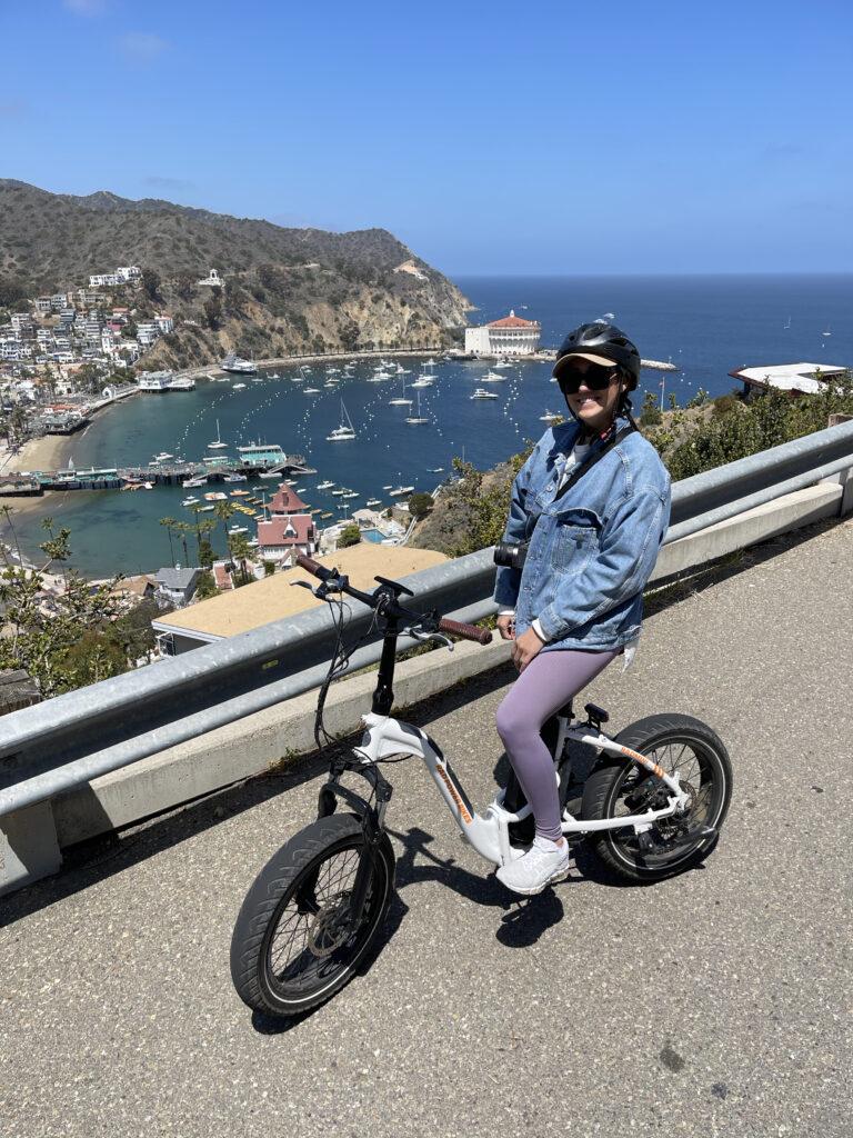 renting e-bikes on catalina island