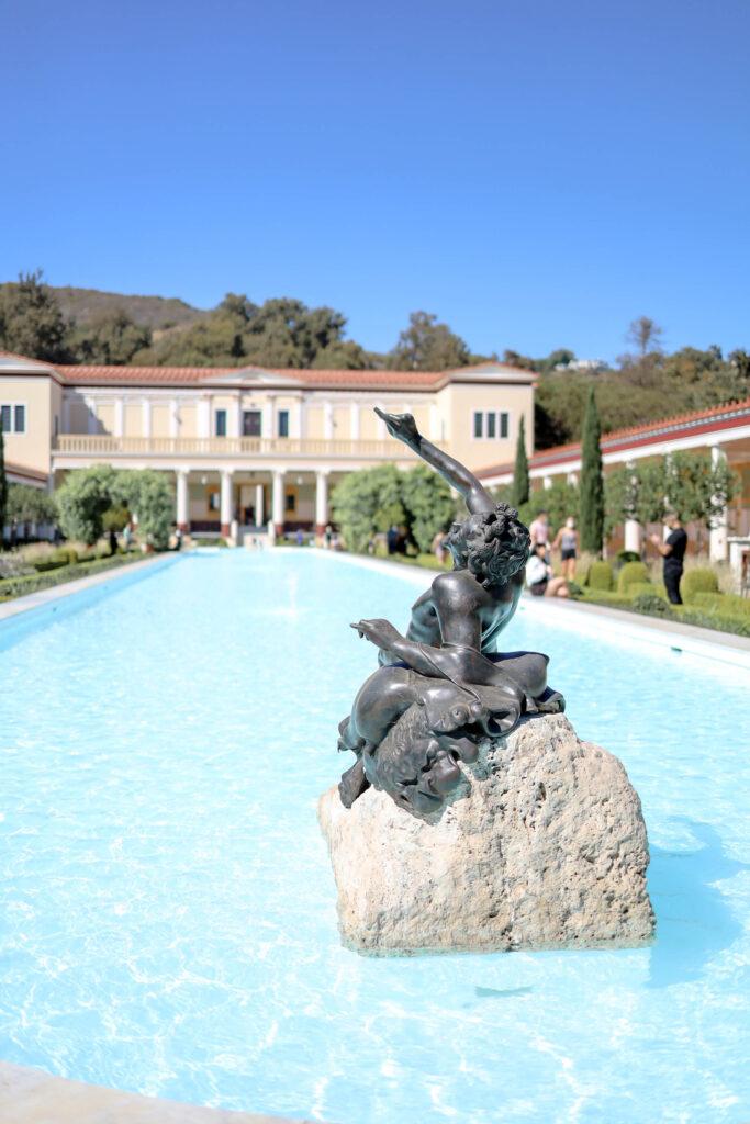 getty villa los angeles garden