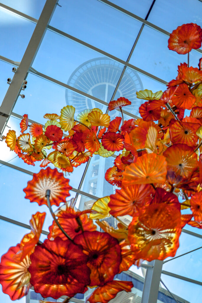 chihuly glass and garden seattle space needle