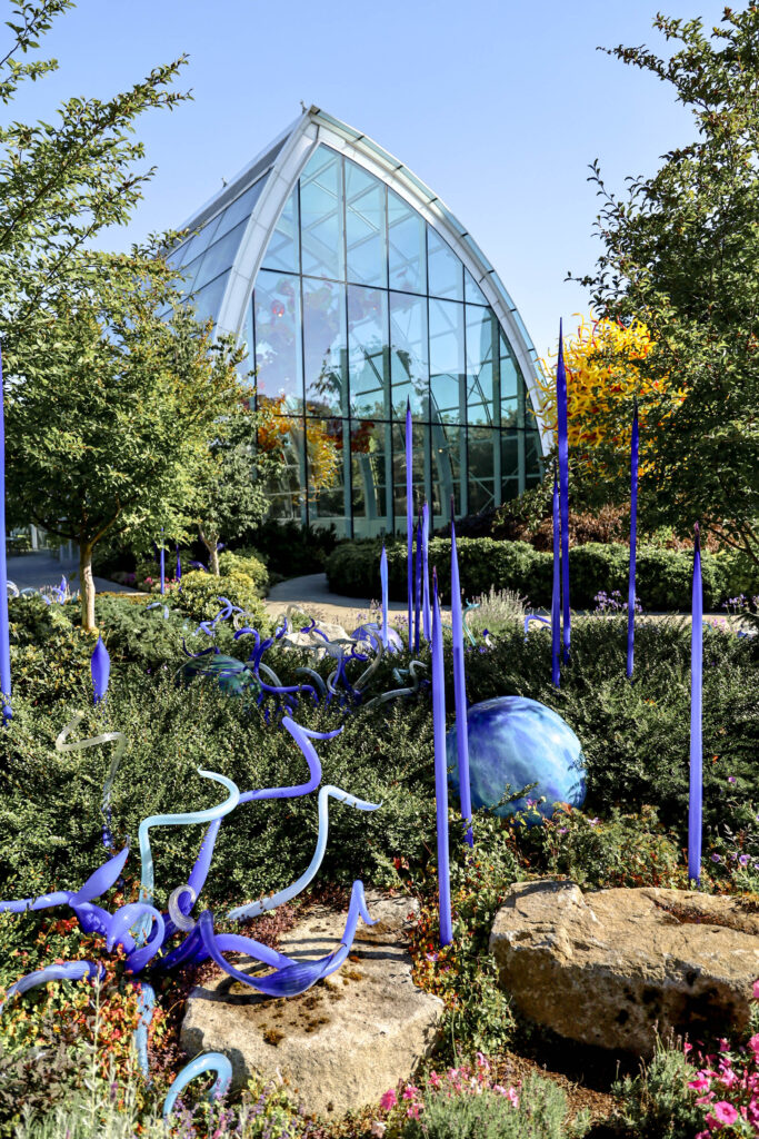 chihuly glass and garden museum