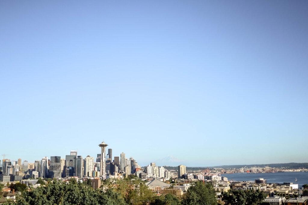 Kerry Park in Seattle Washington