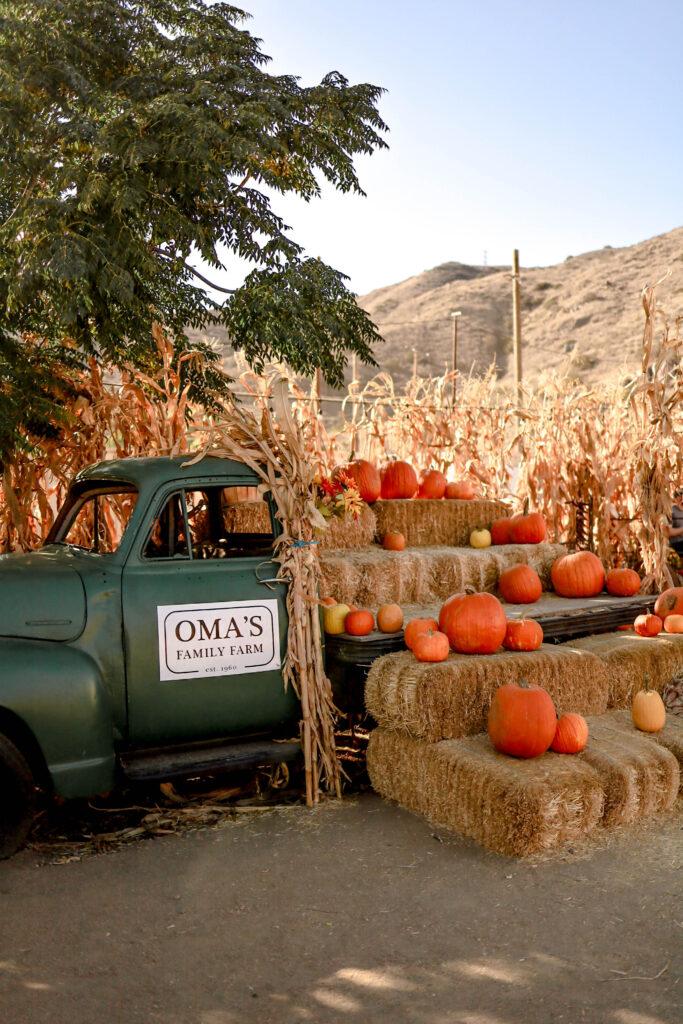 Omas Family Farm in Lakeside California